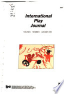 International Play Journal