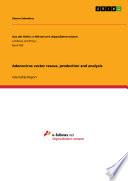 Adenovirus vector rescue  production and analysis