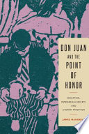 Don Juan And The Point Of Honor