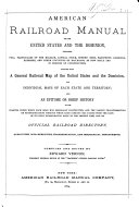 American Railroad Manual for the United States and the Dominion