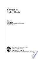 Nitrogen in Higher Plants