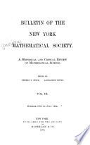 Bulletin of the American Mathematical Society Book