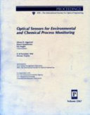 Optical Sensors for Environmental and Chemical Process Monitoring