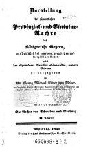 """""""Die"""" Rechte von Schwaben und Neuburg"""