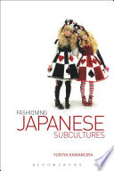Cover of Fashioning Japanese subcultures