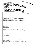 Encyclopedia of World Problems and Human Potential Book PDF