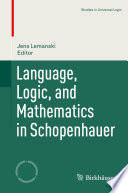 Language  Logic  and Mathematics in Schopenhauer