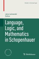 Language  Logic  and Mathematics in Schopenhauer