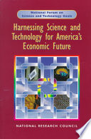 Harnessing Science And Technology For America S Economic Future