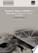 Designers' Guide to EN 1992-1-1 and EN 1992-1-2. Eurocode 2: Design of Concrete Structures