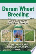 Durum Wheat Breeding