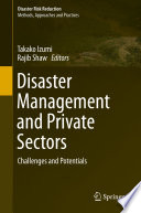 Disaster Management And Private Sectors Book PDF