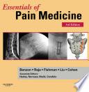 Essentials of Pain Medicine E book Book