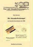 Die Absenderfreistempel des Zentralen Kurierdienstes der DDR