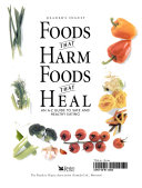 Foods that Harm  Foods that Heal   an A Z Guide to Safe and Healthy Eating Book