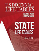 U S Decennial Life Tables For 1979 81 Volume Ii State Life Tables