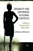 Disability and Difference in Global Contexts
