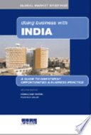 Doing Business with India Book