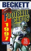 The Official Price Guide to Football Cards  1997