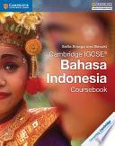 Books - Cambridge Igcse� Bahasa Indonesia Coursebook | ISBN 9781316600054