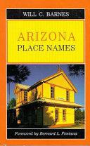 Arizona Place Names