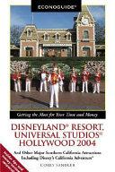 Econoguide Disneyland Resort  Universal Studios Hollywood 2004