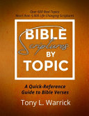 Bible Scriptures by Topic Book PDF