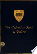 The University Press at Oxford
