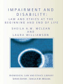 Impairment and Disability