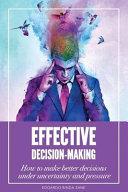 Effective Decision-Making banner backdrop