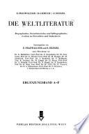 Die Weltliteratur