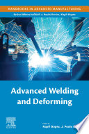 Advanced Welding and Deforming Book