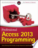 Professional Access 2013 Programming Book