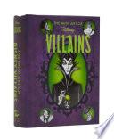 Disney The Mini Art Of Disney Villains Disney Villains Art Book