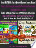 Comic Books For Kids Age 8 With Comic Illustrations: Perfect Ninja Books For Boys - Kid Ninjas - Dog Humor Books