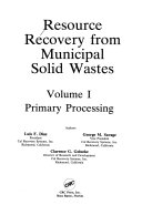 RESC REC FROM MUNICIPAL SOLID WASTES