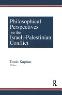Philosophical Perspectives on the Israeli-Palestinian Conflict Pdf/ePub eBook