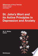 St John S Wort And Its Active Principles In Depression And Anxiety Book PDF