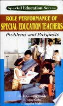 Role Performance Of Special Education Teachers  Problems And Prospects