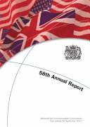 Fifty eighth annual report of the Marshall Aid Commemoration Commission for the year ending 30 September 2011