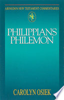 Abingdon New Testament Commentaries Philippians Philemon