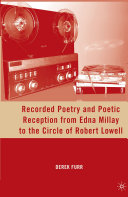 Pdf Recorded Poetry and Poetic Reception from Edna Millay to the Circle of Robert Lowell Telecharger