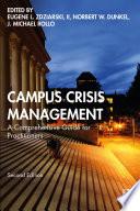 Campus Crisis Management Book