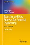 Statistics and Data Analysis for Financial Engineering Pdf/ePub eBook