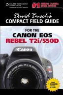 The Canon EOS Rebel T2i/550D