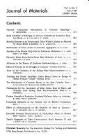 Journal of Materials Book