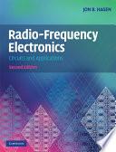Radio Frequency Electronics