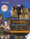 Inventing Arguments 2016 Mla Update