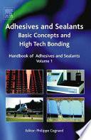 Handbook of Adhesives and Sealants Book