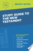 Study Guide To The New Testament